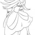 Princess Dancing Coloring Page Princess Dancing Coloring Page