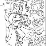 Princess Halloween Coloring Page Princess Halloween Coloring Page