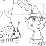 Princess Holly Coloring Pages Princess Holly Coloring Pages