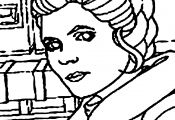 Princess Leia Printable Coloring Pages Princess Leia Printable Coloring Pages