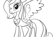 Princess Luna My Little Pony Coloring Page Princess Luna My Little Pony Coloring Page