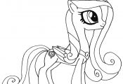Princess My Little Pony Coloring Page Princess My Little Pony Coloring Page