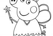 Princess Peppa Pig Coloring Pages Princess Peppa Pig Coloring Pages