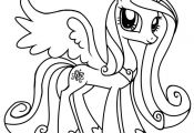 Princess Pony Coloring Page Princess Pony Coloring Page