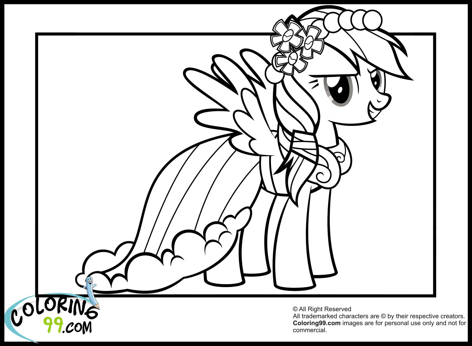 princess-rainbow-dash-coloring-pages-of-princess-rainbow-dash-coloring-pages Princess Rainbow Dash Coloring Pages Cartoon