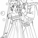 Princess Serenity Coloring Pages Princess Serenity Coloring Pages