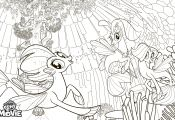 Princess Skystar Coloring Pages Princess Skystar Coloring Pages