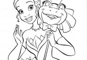 Princess Tiana Coloring Page Princess Tiana Coloring Page