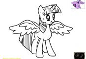 Princess Twilight Coloring Page Princess Twilight Coloring Page