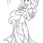 Printable Princess Jasmine Coloring Pages Printable Princess Jasmine Coloring Pages