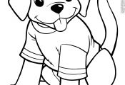 Puppy Coloring Puppy Coloring