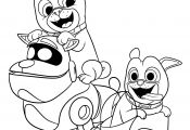 Puppy Dog Pals Coloring Pages Puppy Dog Pals Coloring Pages