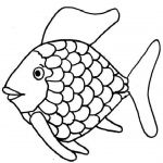 Rainbow Fish Coloring Page Rainbow Fish Coloring Page