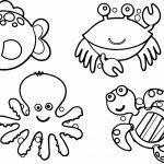 Sea Animals Coloring Sheets Sea Animals Coloring Sheets