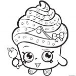 Shopkins Cupcake Princess Coloring Page Shopkins Cupcake Princess Coloring Page