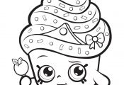 Shopkins Cupcake Princess Coloring Page Shopkins Cupcake Princess Coloring Page