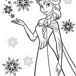 Snow Princess Coloring Pages Snow Princess Coloring Pages