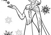 Snow Princess Coloring Pages Snow Princess Coloring Pages
