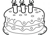 Spongebob Cake Coloring Pages Spongebob Cake Coloring Pages