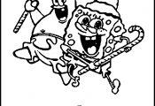 Spongebob Coloring Pages Christmas Spongebob Coloring Pages Christmas