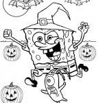 Spongebob Coloring Pages Halloween Spongebob Coloring Pages Halloween
