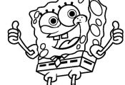 Spongebob Coloring Pages Nickelodeon Spongebob Coloring Pages Nickelodeon