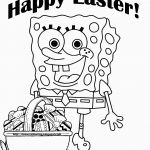 Spongebob Easter Coloring Pages Spongebob Easter Coloring Pages