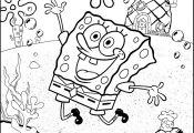 Spongebob Face Coloring Pages Spongebob Face Coloring Pages