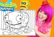 Spongebob Giant Coloring Pages Spongebob Giant Coloring Pages