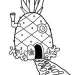 Spongebob Pineapple Coloring Pages Spongebob Pineapple Coloring Pages