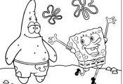 Spongebob Squarepants and Patrick Coloring Pages Spongebob Squarepants and Patrick Coloring Pages