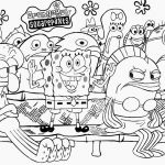 Spongebob Summer Coloring Pages Spongebob Summer Coloring Pages