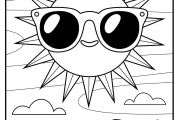 Spongebob with Glasses Coloring Pages Spongebob with Glasses Coloring Pages
