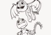#sponsored #DragonsInsiders #HTTYD2 - Free coloring pages from How To Train Your...