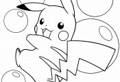 Surfing Pikachu Coloring Page Surfing Pikachu Coloring Page