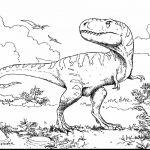 T-rex to Coloring Page T-rex to Coloring Page