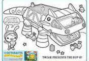 the Octonauts : Activities   #cartoon #coloring #pages