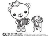 the Octonauts : Activities (free printables!)   #cartoon #coloring #pages
