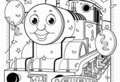 thomas the train birthday coloring pages - Google Search