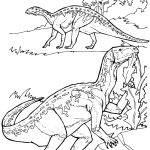 Triassic Dinosaurs Coloring Pages Triassic Dinosaurs Coloring Pages