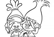 Trolls Baby Poppy Coloring Pages Trolls Baby Poppy Coloring Pages