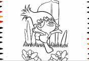 Trolls Coloring Pages for toddlers Trolls Coloring Pages for toddlers