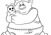 Trolls Coloring Pages Smidge Trolls Coloring Pages Smidge