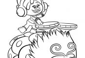 Trolls Colouring Pages Dj Suki Trolls Colouring Pages Dj Suki