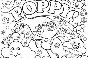 Trolls Colouring Pages Printable Trolls Colouring Pages Printable