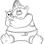 Trolls Mini Coloring Pages Trolls Mini Coloring Pages