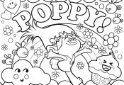 Trolls Printable Coloring Pages Trolls Printable Coloring Pages