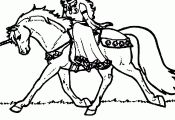Unicorn Coloring Pages to Print Unicorn Coloring Pages to Print