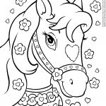 Unicorn with Princess Coloring Pages Unicorn with Princess Coloring Pages