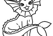Vaporeon Pokemon Go Coloring Pages Vaporeon Pokemon Go Coloring Pages